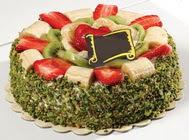 pasta gönder  4 ile 6 kisilik karisik meyvali yas pasta  Bitlis internetten çiçek siparişi