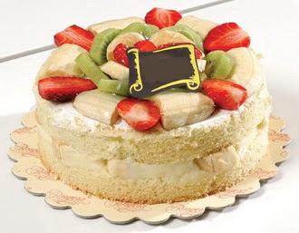 pasta siparisi 4 ile 6 kisilik karisik meyvali yas pasta  Bitlis çiçek servisi , çiçekçi adresleri