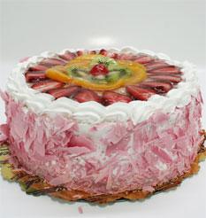 görsel pastacilar 4 ile 6 kisilik yas pasta karisik meyvali  Bitlis çiçek online çiçek siparişi