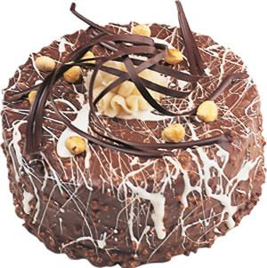 pasta satisi 4 ile 6 kisilik çikolatali yas pasta  Bitlis İnternetten çiçek siparişi
