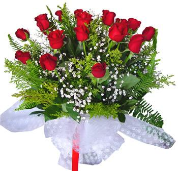 11 adet gösterisli kirmizi gül buketi  Bitlis internetten çiçek satışı