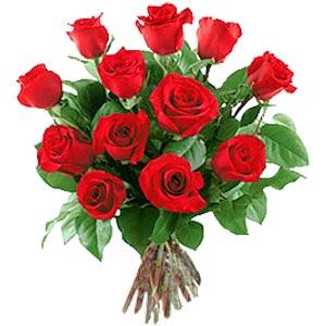 11 adet bakara kirmizi gül buketi  Bitlis güvenli kaliteli hızlı çiçek