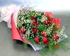 10 adet kirmizi gül çiçegi gönder  Bitlis anneler günü çiçek yolla