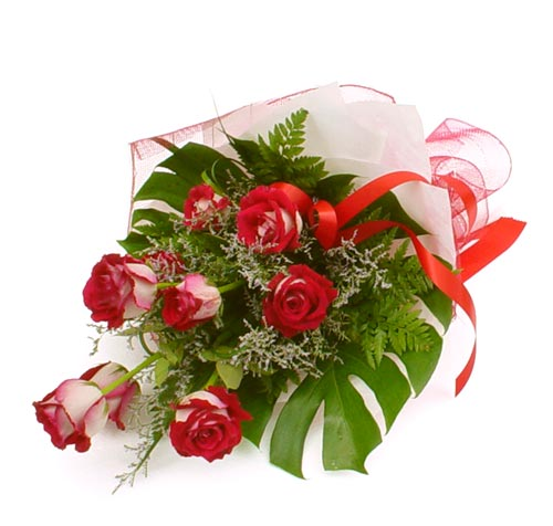 çiçek gönder 7 adet kirmizi gül buketi  Bitlis kaliteli taze ve ucuz çiçekler