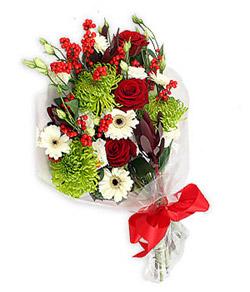 Karisik mevsim buketi çiçek tanzimi  Bitlis internetten çiçek siparişi
