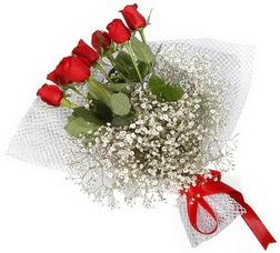 7 adet kirmizimi kirmizi gül buketi  Bitlis hediye sevgilime hediye çiçek