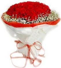 Bitlis çiçekçiler  41 adet kirmizi gül buketi