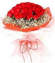 Bitlis hediye sevgilime hediye çiçek  21 adet askin kirmizi gül buketi