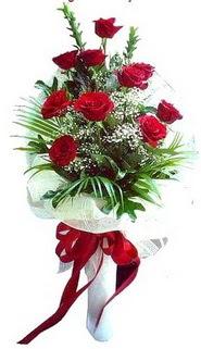 Bitlis ucuz çiçek gönder  10 adet kirmizi gül buketi demeti