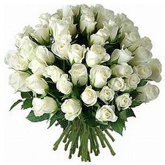 Bitlis çiçek servisi , çiçekçi adresleri  33 adet beyaz gül buketi