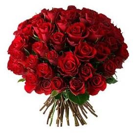 Bitlis çiçek , çiçekçi , çiçekçilik  33 adet kırmızı gül buketi