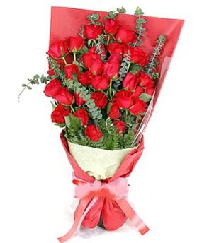 Bitlis çiçek gönderme  37 adet kırmızı güllerden buket