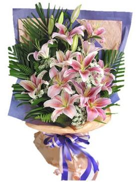 7 dal kazablankadan görsel buket  Bitlis kaliteli taze ve ucuz çiçekler
