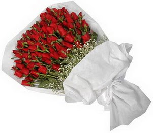 Bitlis İnternetten çiçek siparişi  51 adet kırmızı gül buket çiçeği