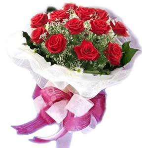 Bitlis çiçek satışı  11 adet kırmızı güllerden buket modeli
