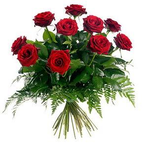 Bitlis çiçek gönderme  10 adet kırmızı gülden buket