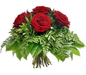 Bitlis çiçek mağazası , çiçekçi adresleri  5 adet kırmızı gülden buket
