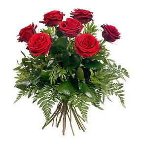 Bitlis online çiçek gönderme sipariş  7 adet kırmızı gülden buket