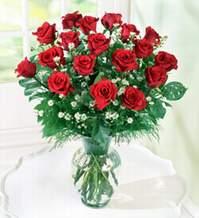 Bitlis internetten çiçek satışı  9 adet mika yada vazoda kirmizi güller