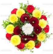 Bitlis çiçekçi mağazası  13 adet mevsim çiçeğinden görsel buket
