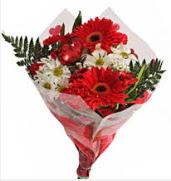 Mevsim çiçeklerinden görsel buket  Bitlis çiçekçiler