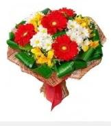 1 demet karışık buket  Bitlis hediye sevgilime hediye çiçek