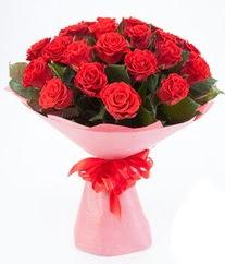 15 adet kırmızı gülden buket tanzimi  Bitlis çiçek siparişi sitesi