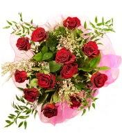 12 adet kırmızı gül buketi  Bitlis 14 şubat sevgililer günü çiçek