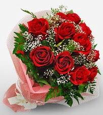 12 adet kırmızı güllerden kaliteli gül  Bitlis çiçek siparişi vermek