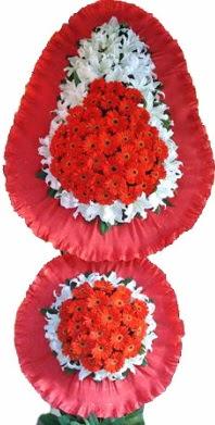 Bitlis online çiçek gönderme sipariş  Çift katlı kaliteli düğün açılış sepeti