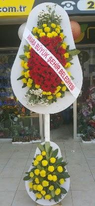 Çift katlı düğün nikah açılış çiçek modeli  Bitlis çiçekçi mağazası