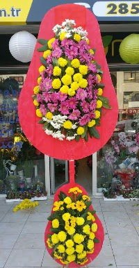 Çift katlı düğün nikah açılış çiçek modeli  Bitlis online çiçek gönderme sipariş