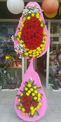 Çift katlı düğün nikah açılış çiçek modeli  Bitlis çiçekçiler