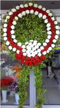 Cenaze çelenk çiçeği modeli  Bitlis anneler günü çiçek yolla