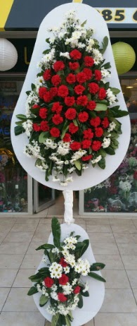 2 katlı nikah çiçeği düğün çiçeği  Bitlis çiçek gönderme