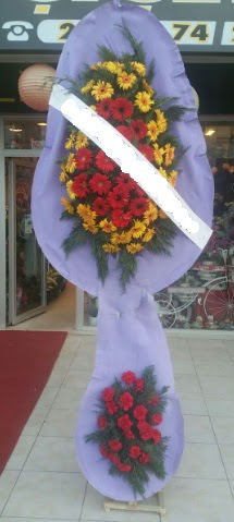Çift katlı nikah düğüne çiçek modeli  Bitlis internetten çiçek siparişi