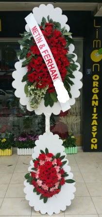 Çift katlı düğün nikah çiçeği modeli  Bitlis çiçek siparişi sitesi