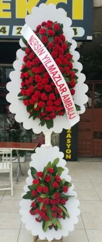 Çift katlı düğün nikah çiçeği modeli  Bitlis hediye çiçek yolla