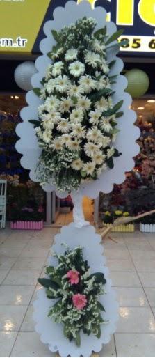 Çift katlı düğün nikah açılış çiçeği  Bitlis çiçekçi telefonları