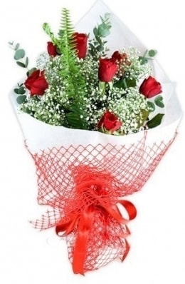 7 adet gülden kız arkadaşıma çiçek  Bitlis çiçekçi telefonları