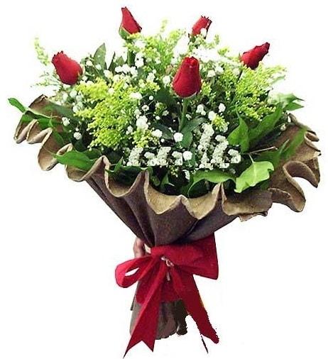 5 adet gülden buket  Bitlis çiçek gönderme sitemiz güvenlidir