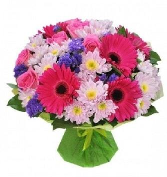 Karışık mevsim buketi mevsimsel buket  Bitlis çiçek satışı