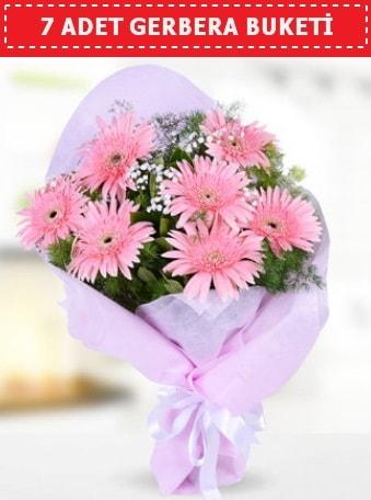 Pembe Gerbera Buketi  Bitlis çiçek , çiçekçi , çiçekçilik