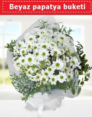 Beyaz Papatya Buketi  Bitlis 14 şubat sevgililer günü çiçek